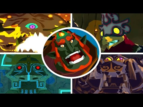 The Legend of Zelda: The Wind Waker - All Bosses (No Damage)