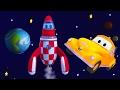 Tom la Grúa y el cohete en Auto City  🚗 | Dibujos animados para niños