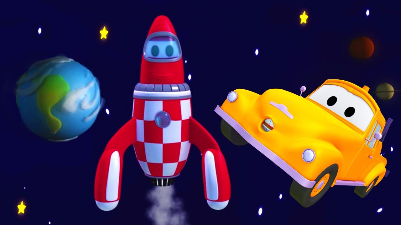 Tom la Grúa y el cohete en Auto City 🚗 | Dibujos animados para ...