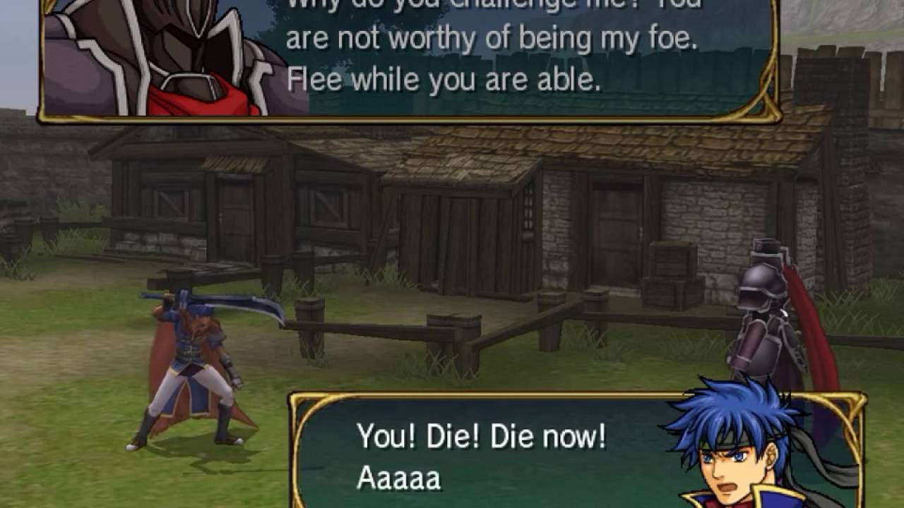 Make Own Quote Wallpaper What Happens If Ike Challenges The Black Knight In Chapter