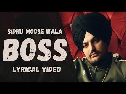 boss-sidhu-moose-wala-lyrics-|-lyrical-video-|-punjabi-song-2018