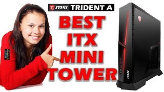 BEST Small Form Factor Prebuilt Gaming PC MSI Trident A i5 RTX2060