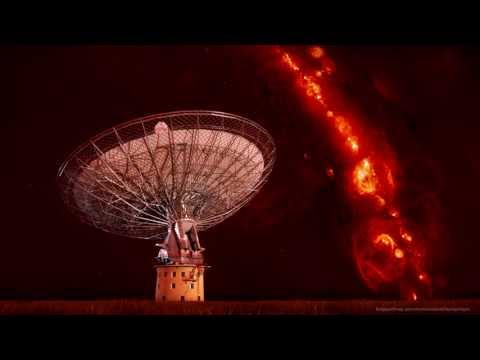 Fast extra-galactic radio bursts to probe the Universe