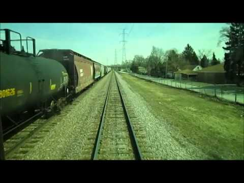 Riding Metra Union Pacific West Line Train #48 from College Ave. to Chicago