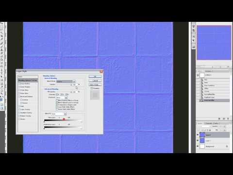 Creating Normal Maps In Photoshop