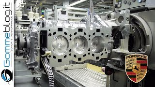 Porsche ENGINE - Car Factory Production Assembly Line