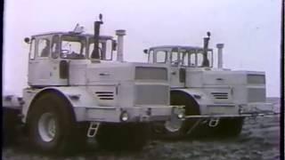 Трактор был без водителя уже в 1978 году Автоматизация в сельском хозяйстве   1978 год