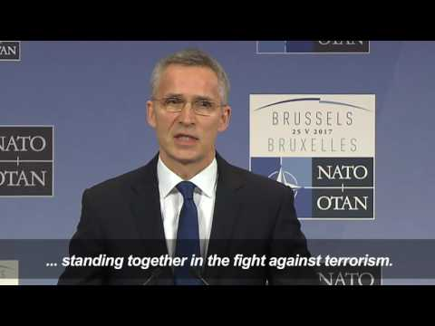 NATO Must 'Step Up' After Manchester Attack - Stoltenberg