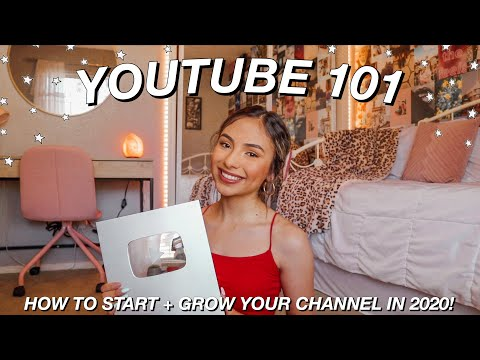 Watch This Video If You Want To Start A YouTube Channel In 2020! All My Advice & Tips