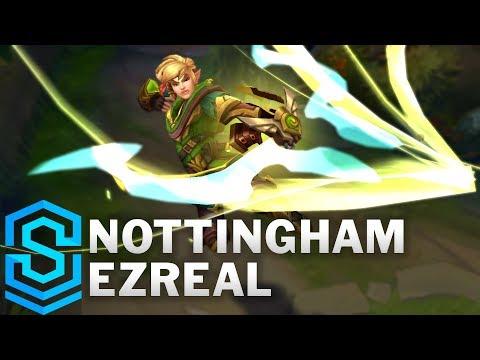 Nottingham Ezreal (2018) Skin Spotlight - Pre-Release - League of Legends