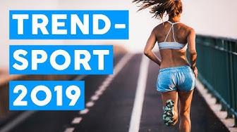 Diese Sportarten liegen 2019 voll im Trend! 👟