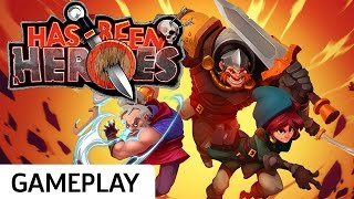 Fighting Off A Skeleton Army - Has Been Heroes Gameplay