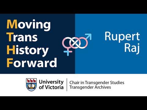 Rupert Raj: Moving Trans History Forward 2016 - Founders Panel