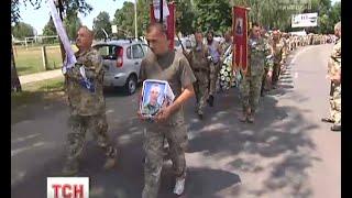 В Яготині попрощались з 24-річним воїном Олександром Домашенко