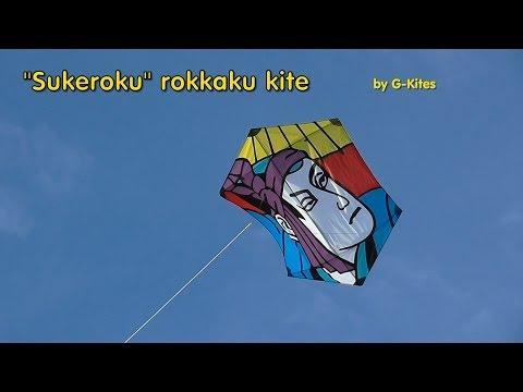 SukeRoku rokkaku kite