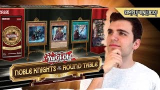 Best Yugioh Noble Knights of the Round Table Box Set Opening and Review!
