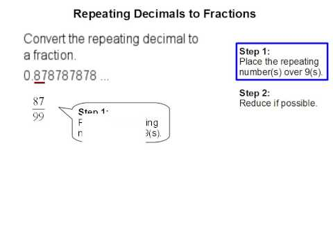 math worksheet : worksheets on converting repeating decimals to fractions  : Converting Repeating Decimals To Fractions Worksheets