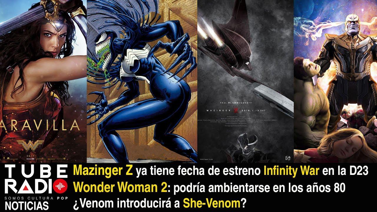 Mazinger Z Ya Tiene Fecha De Estreno Avengers Infinity War