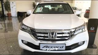 """هوندا اكورد 2016 لدى وكالة عبدالله هاشم """"تقرير ومواصفات واسعار جميع الفئات"""" Honda Accord"""