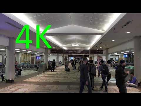 A 4K Tour Of Nashville International Airport (BNA): Concourses A, B, And C