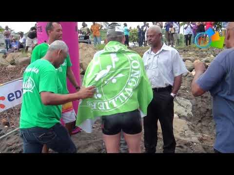Octobre Rose 2017 : Le Tour de la Martinique à la nage de Gilles Rondy