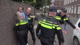 Heterdaad oefening politie in Centrum Nederweert