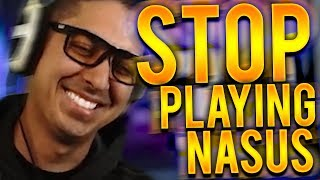 MY GF NEEDS TO STOP PLAYING NASUS!!! - Trick2G