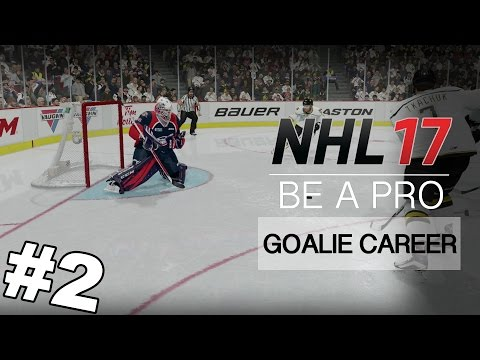 "NHL 17 Be A Pro – Goalie Career ep 2 – ""LONDON CALLING"""