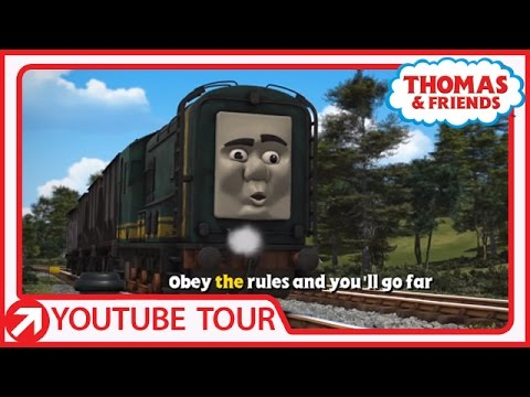 Rules and Regulations Song | YouTube World Tour | Thomas & Friends