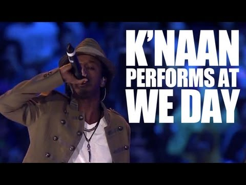K'naan - 'Take a Minute' (Live at WE Day 2010)