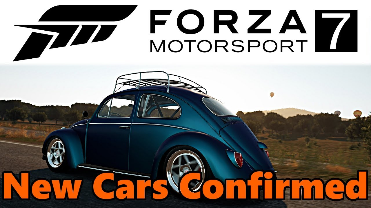 Forza Motorsport 7 - NEW CARS CONFIRMED! FM7 Car List - YouTube