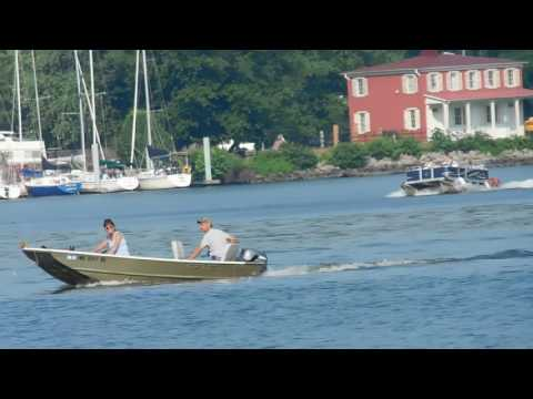 Boating On The Susquehanna River Havre De Grace Maryland
