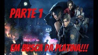 Resident Evil 2 - Em busca da Platina - Parte 1