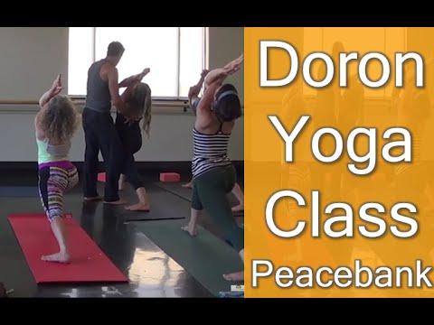 Doron Yoga Vinyasa Class Live at Peacebank Studio in Redwood City