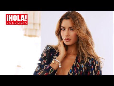 Ariadna Gutiérrez, en exclusiva para ¡HOLA! Colombia   HOLA