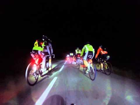 Paris-Brest-Paris 2015 - A tandem catched 80 h groups few hours after start