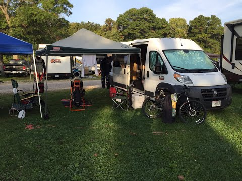 RAM ProMaster Camper Van Tour