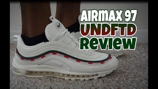 NIKE AIR MAX 97 UNDEFEATED UNBOXING +
