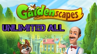 APK MOD GARDENSCAPES UNLIMITED HEALT,MONEY AND MORE