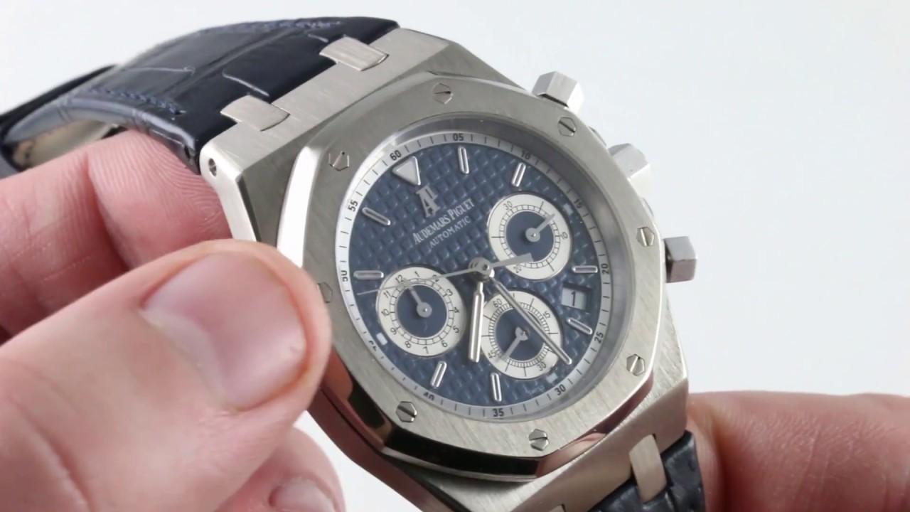 c270829ddf789 Audemars Piguet Royal Oak Chronograph 26022BC.OO.D028CR.01 Luxury Watch  Review