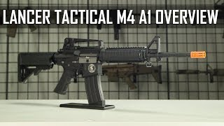 Lancer Tactical Full Metal M4-A1 Overview!! - Airsoft GI