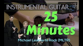Michael Learns To Rock - 25 Minutes instrumental guitar karaoke version cover with lyrics