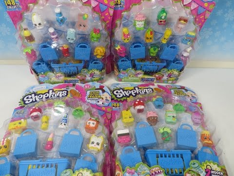 Shopkins Limited Edition Hunt Season 1 Moose Toys Unboxing