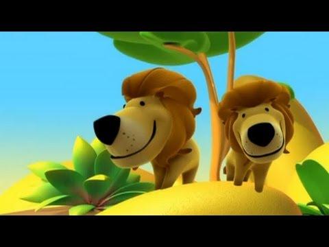 Alex El Leon Dibujos Educativos Infantiles Sobre Animales Youtube