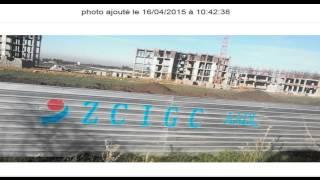 نسبة التقدم في الأشغال لمشروع سكنات عدل موقع بوعينان Bouinan 5000  وحدة سكنية