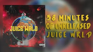 58 Minutes Of Unreleased Juice WRLD Songs