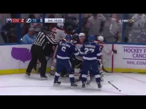 Lucic incites brawl against Lightning