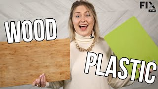 Wooden or Plastic Cutting Boards - Which One is Right for Your Kitchen? | FIX.com