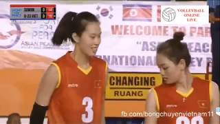 U23 Việt Nam Vs Suwon (Korea) - Women's Volleyball   Asian Peace Cup 2019