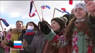 Russian forces  returning to home after victory in Syria & Celebrations